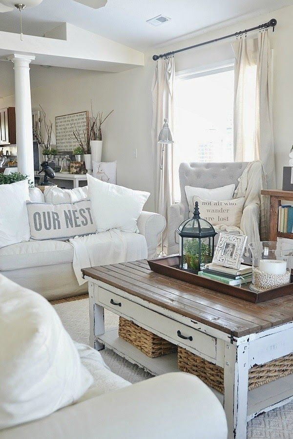 Wonderful Top White Cottage Style Coffee Tables Regarding Top 25 Best Beach Style Coffee Tables Ideas On Pinterest Beach (Image 49 of 50)