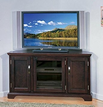 Wonderful Trendy Cherry Wood TV Stands Within Amazon Corner Entertainment Center Tv Stand Big Screen Tv (Image 48 of 50)