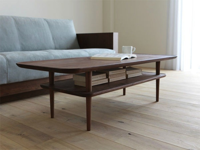 Wonderful Trendy Coffee Tables With Shelves In Dining Table With Shelf Underneath Would Be Simple To Make (Image 50 of 50)
