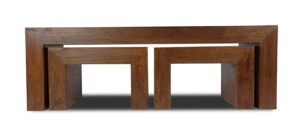 Wonderful Trendy Dark Mango Coffee Tables For Dakota Long John Coffee Table Trade Furniture Company (Image 39 of 40)