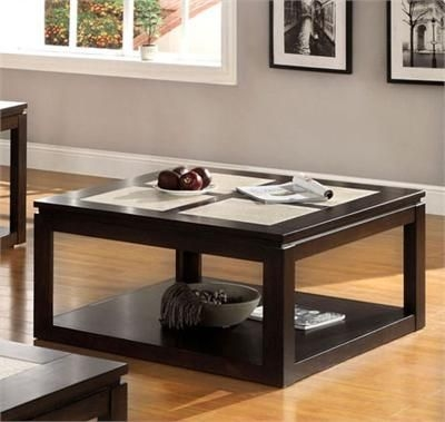 Wonderful Trendy Dark Wood Square Coffee Tables Within 13 Best Coffee Tables Images On Pinterest White Coffee Tables (Image 49 of 50)