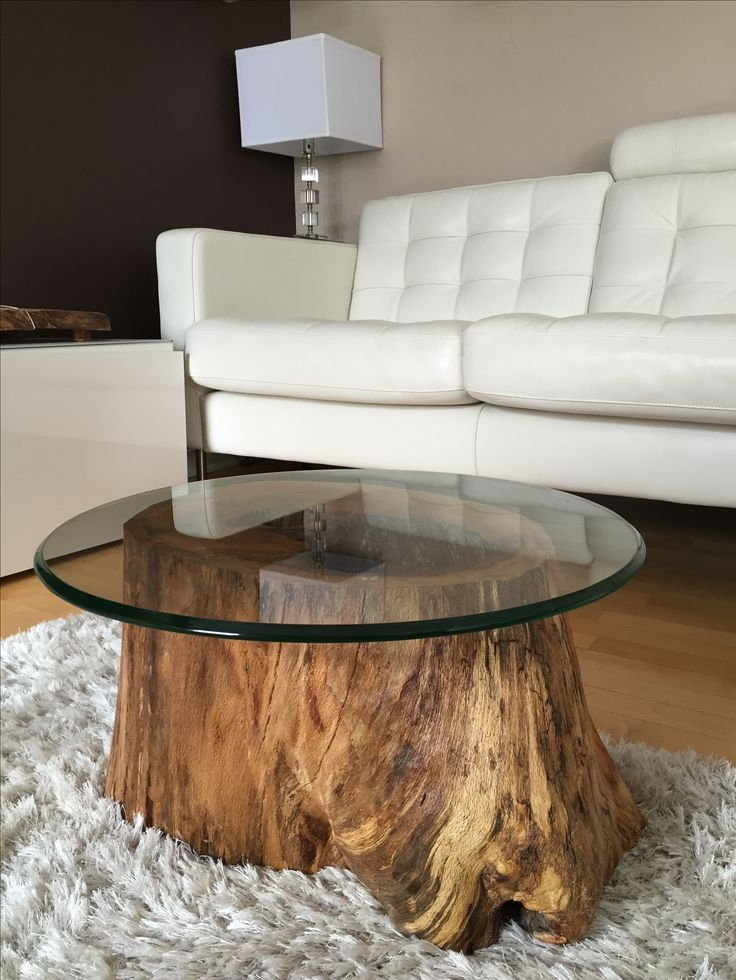 Wonderful Trendy Large Wood Coffee Tables For Root Coffee Tables Root Tables Log Furniture Large Wood Stump (Image 50 of 50)