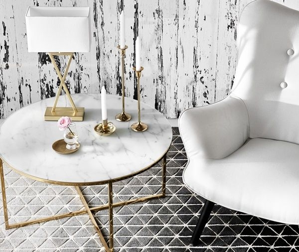 Wonderful Trendy Marble Round Coffee Tables With Regard To 56 Best Marble Coffee Tables Images On Pinterest Marble Coffee (Image 49 of 50)