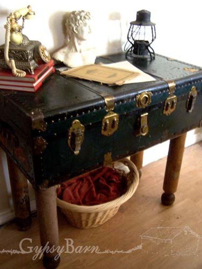 Wonderful Trendy Old Trunks As Coffee Tables Within 86 Best Repurpose Suitcases Trunks Images On Pinterest Vintage (Image 50 of 50)
