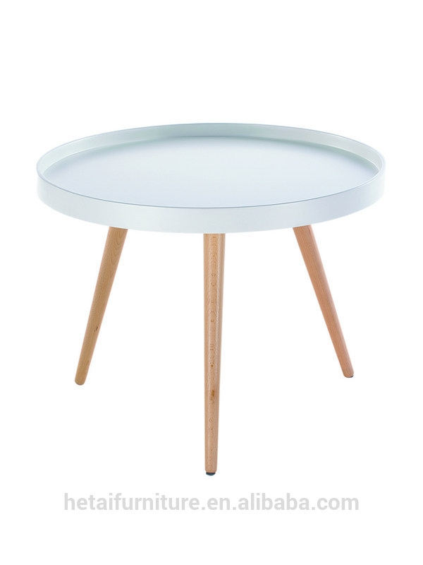 Wonderful Trendy Round Tray Coffee Tables In Modern Wood Mdf Tray Tablebright Color 3 Legs Round Tray Coffee (Image 48 of 50)
