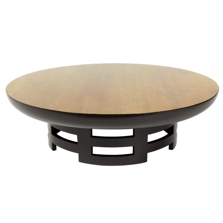 Wonderful Unique Asian Coffee Tables Regarding Rattan Top Coffee Table Asian Coffee Tables Other Metro Asian (View 26 of 40)