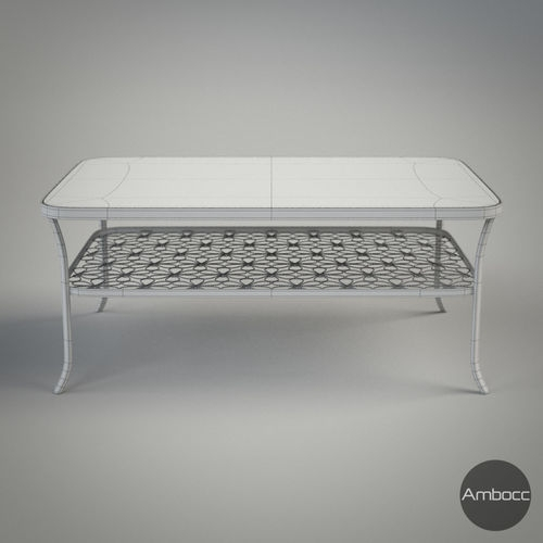 Wonderful Unique Coffee Tables Glass And Metal Inside Coffee Table Glass Metal Frame 3d Model Obj Fbx Lwo Lw Lws Lxo Lxl (View 48 of 50)