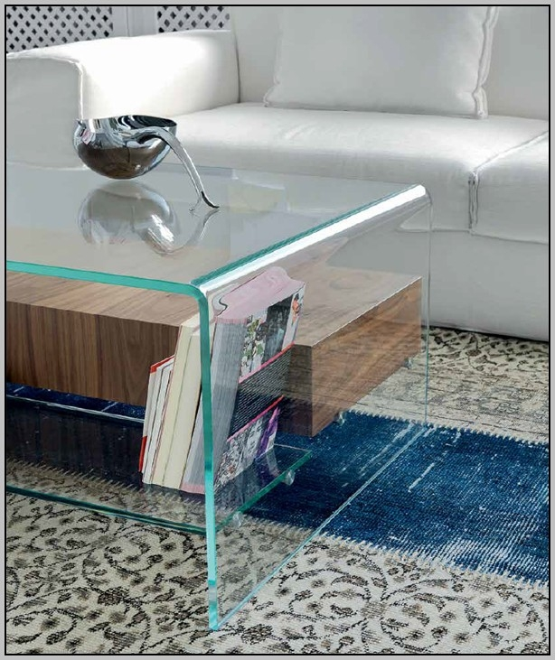 Wonderful Unique Glass Coffee Tables With Shelf With Regard To Oval Glass Coffee Table With Shelf Coffee Table Home (View 49 of 50)