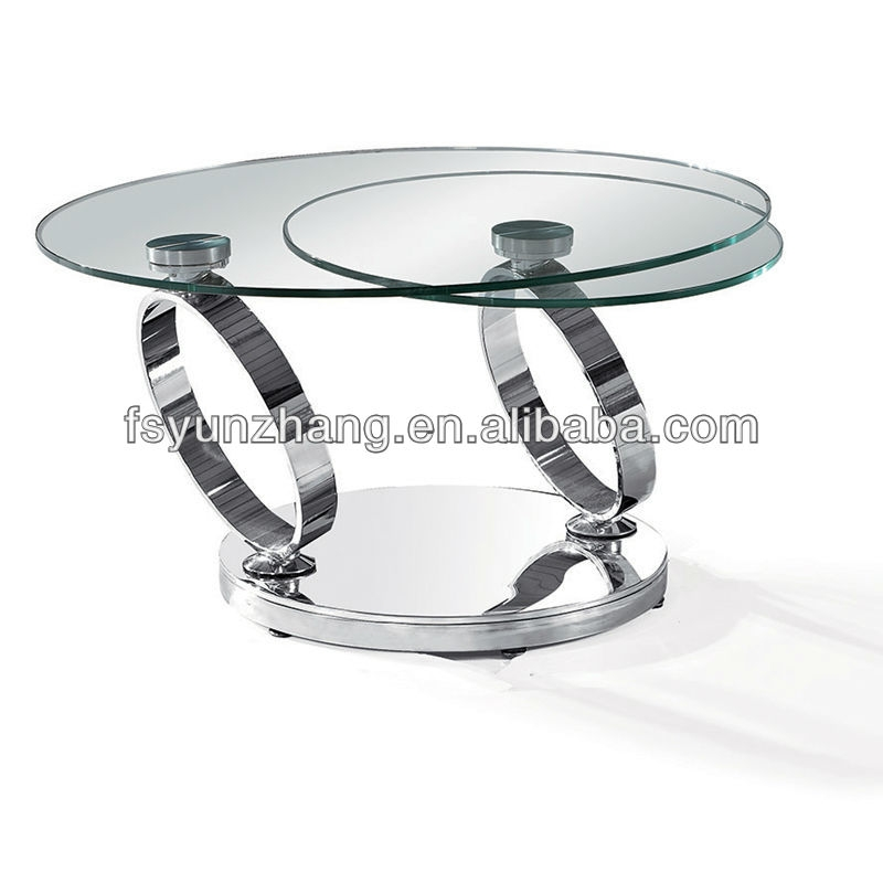 Wonderful Unique Revolving Glass Coffee Tables For Wholesale Skinny Rotating Glass Coffee Table With Stools Alibaba (Image 39 of 40)