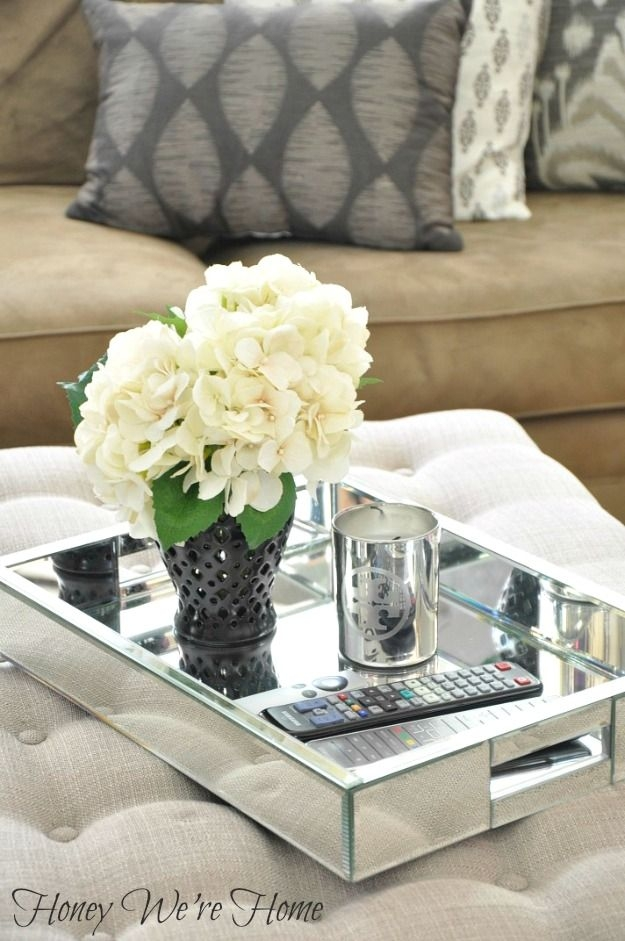 Wonderful Unique Round Coffee Table Trays Within Best 25 Coffee Table Tray Ideas On Pinterest Wooden Table Box (Image 50 of 50)