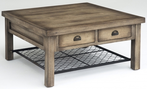 Wonderful Unique Rustic Coffee Table Drawers For Square Rustic Coffee Table (View 43 of 50)