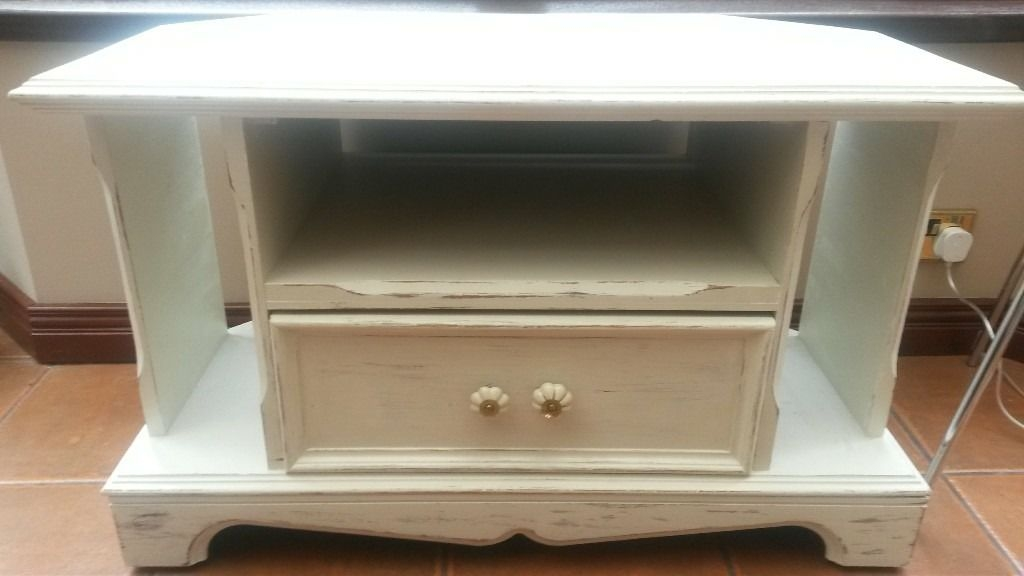 Wonderful Unique Shabby Chic TV Cabinets Regarding Shab Chic Tv Cabinet In Finaghy Belfast Gumtree (View 25 of 50)