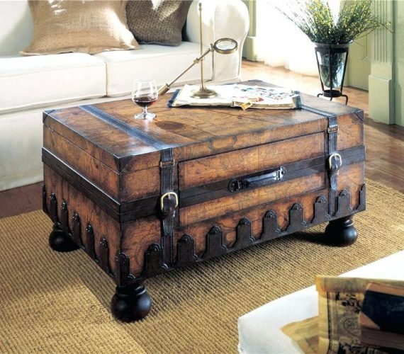 Wonderful Variety Of Bombay Coffee Tables Intended For Coffee Table Trunk Coffee Table With Storage Trunks Furnitureold (View 47 of 50)
