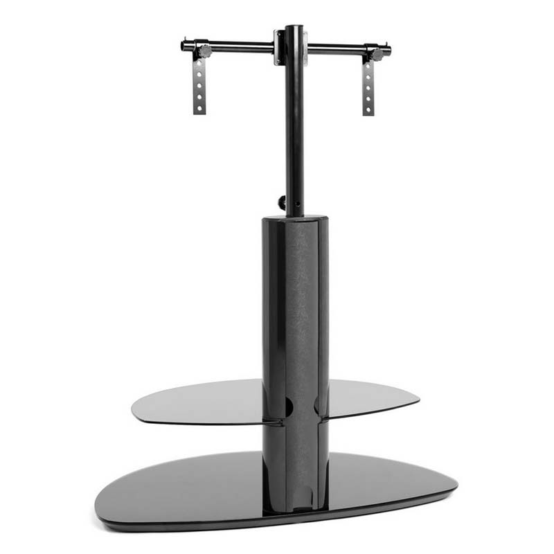 Wonderful Variety Of Corner TV Stands With Bracket Inside Techlink Strata 2 Shelf 50 Inch Corner Tv Stand With Integrated Tv (View 46 of 50)