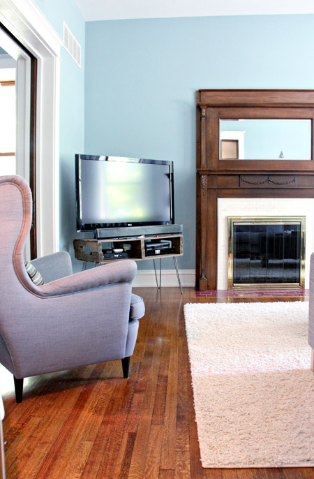 Wonderful Variety Of Hairpin Leg TV Stands In Diy Pallet Tv Stand (Image 50 of 50)