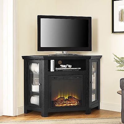 Wonderful Variety Of Home Loft Concept TV Stands Within Home Loft Concepts Corner Tv Stand With Electric Fireplace (Image 50 of 50)