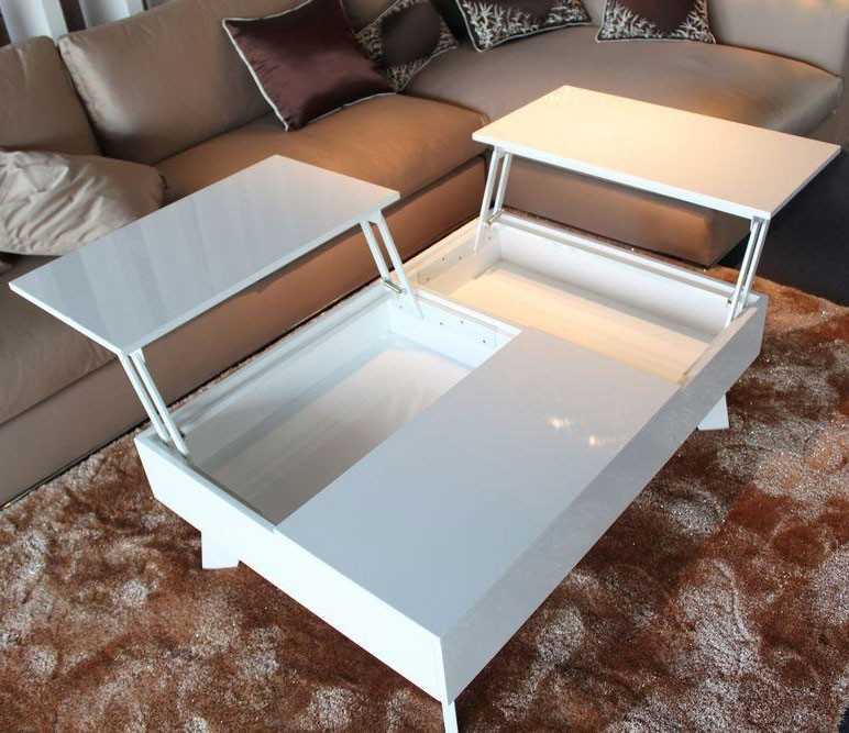 Wonderful Variety Of Lacquer Coffee Tables In Coffee Table Unique White Lacquer Coffee Table Design Ideas White (View 11 of 40)