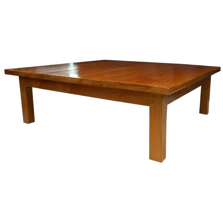 Jerome S Square Coffee Table: 50 Collection Of Large Square Wood Coffee Tables