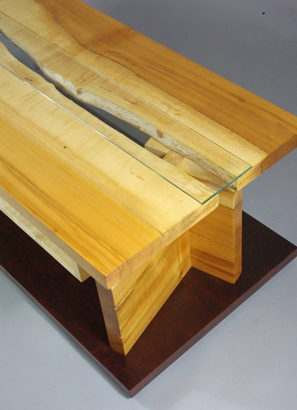 Wonderful Variety Of Maple TV Cabinets Intended For Maple Live Edge Slab Tv Cabinet Rugged Cross Fine Art Woodworking (View 26 of 50)