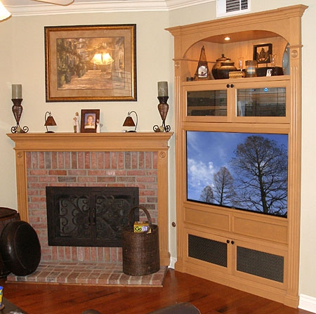 Wonderful Variety Of Modern TV Cabinets For Flat Screens For How To Retrofit Or Modify Your Old Entertainment Center To (Image 47 of 50)