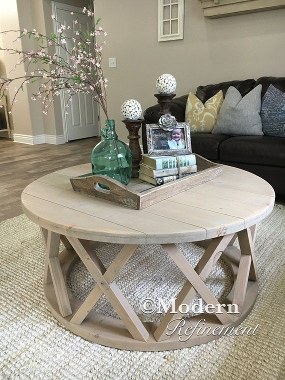Wonderful Variety Of Round Pine Coffee Tables Intended For Best 25 Coffee Table Dimensions Ideas On Pinterest Coffee Table (View 50 of 50)