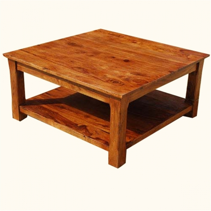 Wonderful Variety Of Square Wooden Coffee Tables For Solid Wood Square Coffee Tables Wd (Image 50 of 50)