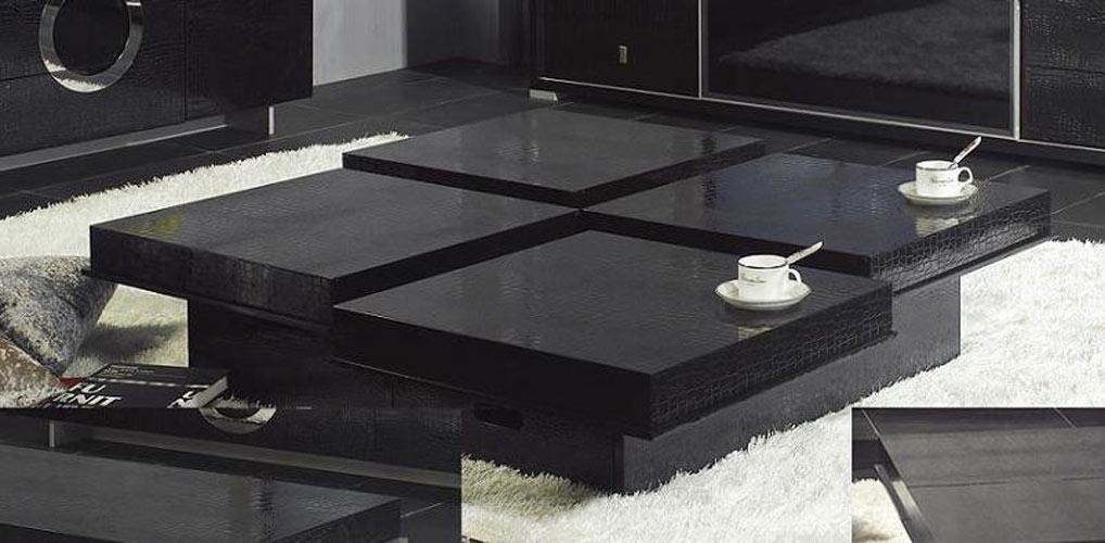 Wonderful Variety Of White And Black Coffee Tables Within Modern Black Coffee Tables Table And Estate (Image 40 of 40)