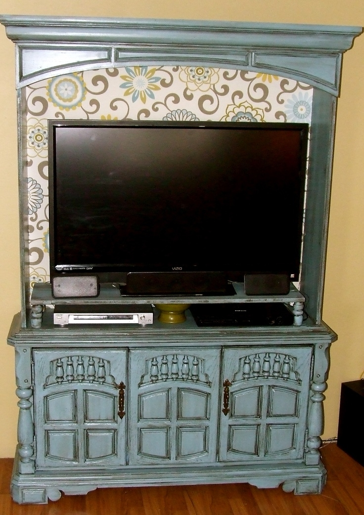 Wonderful Wellknown Blue TV Stands For 98 Best Tv Stands Images On Pinterest Home Tv Stands And Live (View 25 of 50)