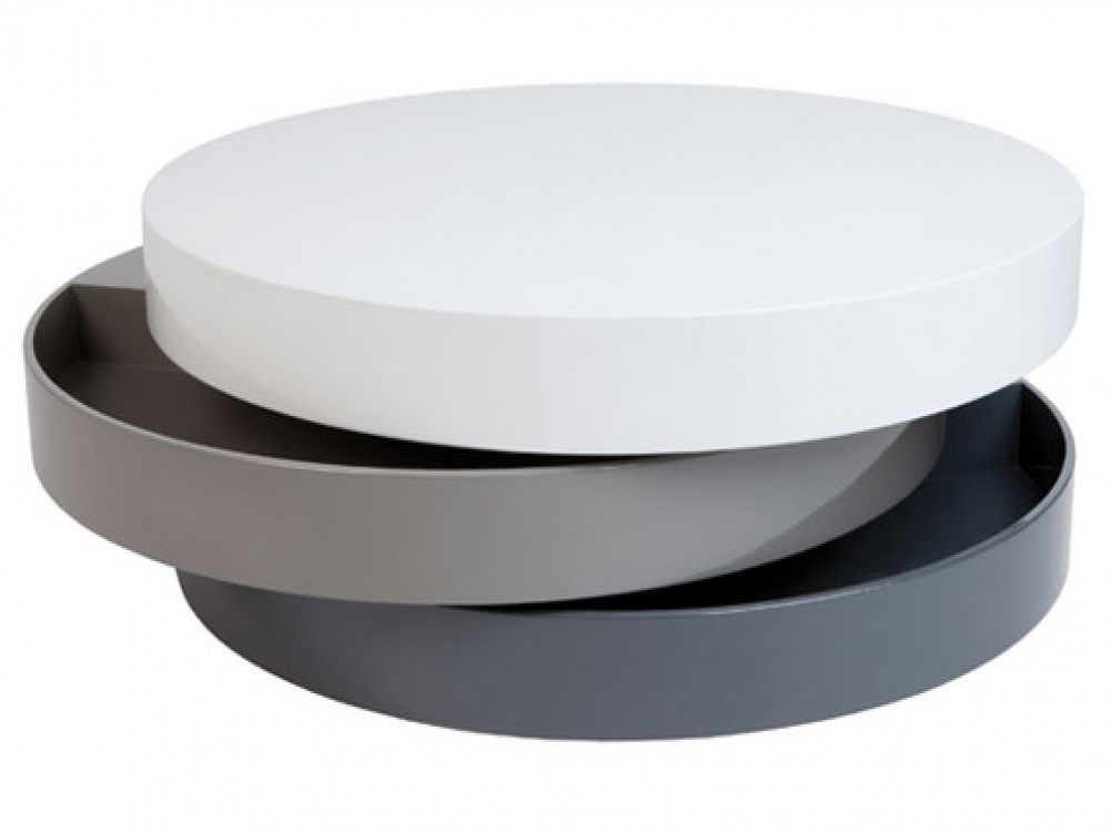 Wonderful Wellknown Circular Coffee Tables With Storage Regarding Round Coffee Table With Storage (Image 49 of 50)