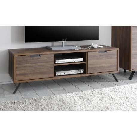 Wonderful Well Known Dark Walnut TV Stands With Parma Dark Walnut Tv Stand Tv Stands Sena Home Furniture (Image 49 of 50)