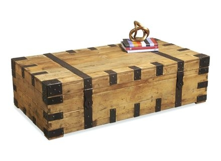 Wonderful Wellknown Large Trunk Coffee Tables Inside Wooden Trunks Coffee Tables Jerichomafjarproject (Image 50 of 50)
