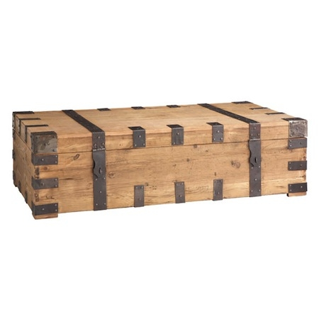 Wonderful Well Known Large Trunk Coffee Tables With Regard To Trunk Coffee Table Look 4 Less And Steals And Deals (Image 49 of 50)