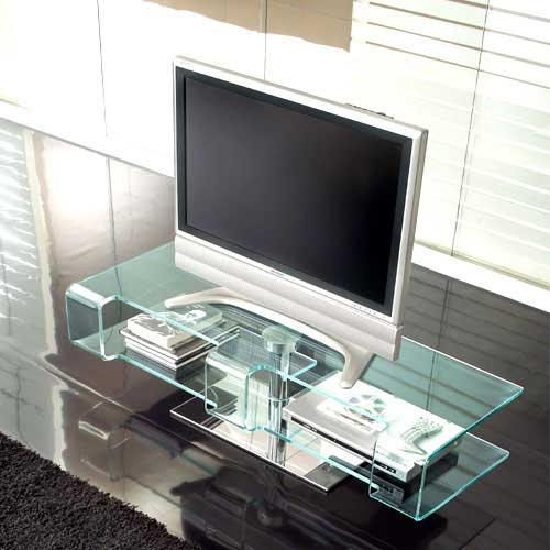 Wonderful Wellknown Modern Glass TV Stands For Great Collection Of Modern Plasma Tv Stand Designed Tonin Casa (Photo 4 of 50)