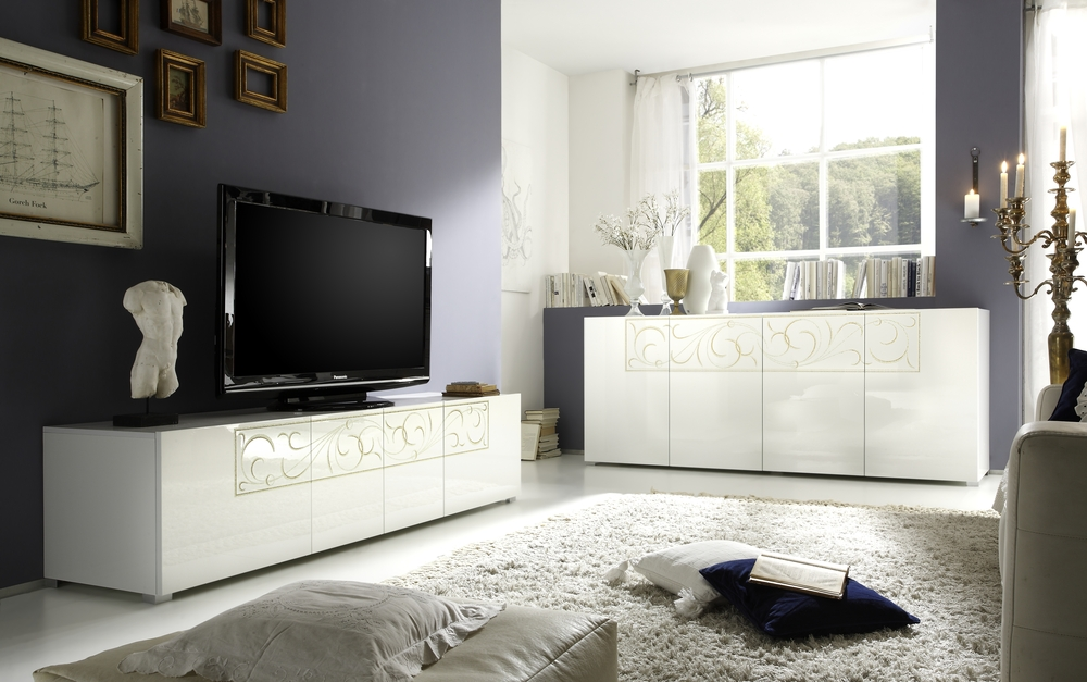 Wonderful Wellknown Modern White Lacquer TV Stands For Tv Stands Glamorous White High Gloss Tv Stand 2017 Design Black (Image 50 of 50)