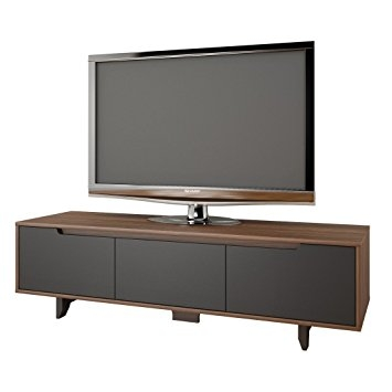 Wonderful Well Known Nexera TV Stands With Regard To Amazon Nexera 107042 Alibi Tv Stand Walnut And Charcoal (View 31 of 50)