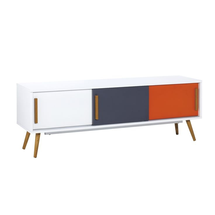 Wonderful Wellknown Orange TV Stands Throughout 18 Best Tv Stands Images On Pinterest (View 22 of 50)