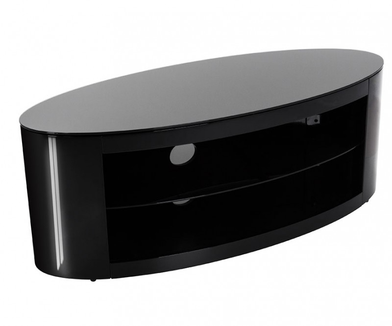 Wonderful Wellknown Oval Glass TV Stands Throughout Tv Stands (Image 50 of 50)