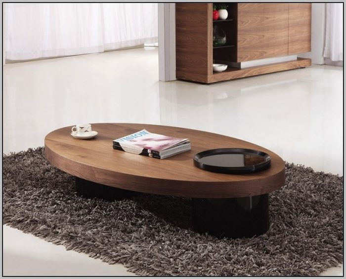 Wonderful Well Known Oval Shaped Coffee Tables Inside Oval Shaped Glass Coffee Tables Coffee Table Home Decorating (View 3 of 50)