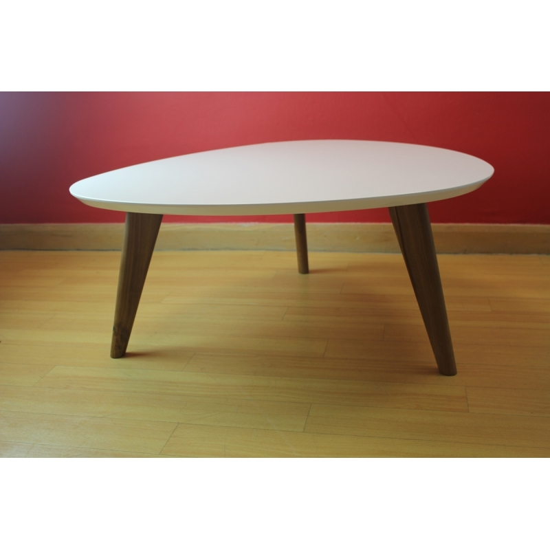 Wonderful Wellknown Retro White Coffee Tables Intended For New Style Retro Designer Scandinavian White Top Center Coffee (Image 50 of 50)