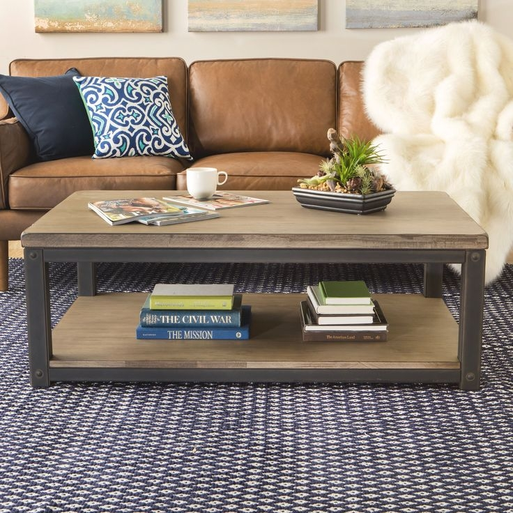 Wonderful Well Known Rustic Coffee Tables With Bottom Shelf Regarding 10 Best Coffee Table End Table Sofa Table Images On Pinterest (View 17 of 50)