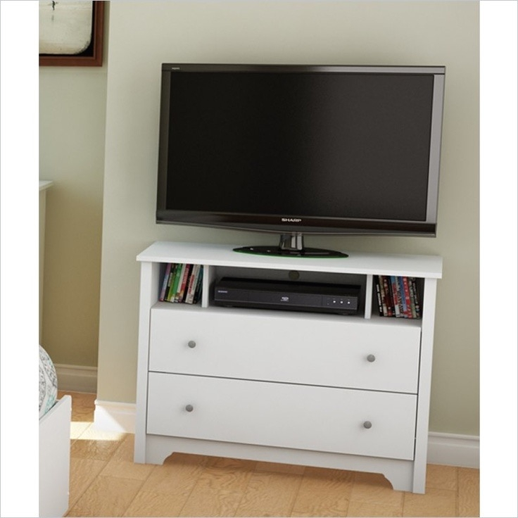 Wonderful Wellknown Small White TV Stands Pertaining To 18 Breathtaking Small White Tv Stand Ideas (Image 49 of 50)