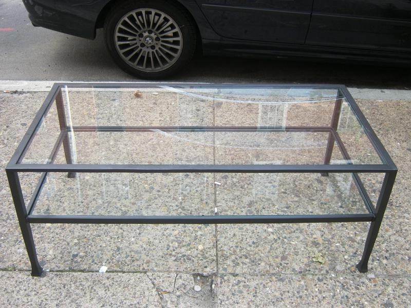 Wonderful Well Known Steel And Glass Coffee Tables Throughout Wrought Iron Coffee Table With Glass Top Idi Design (Image 49 of 50)