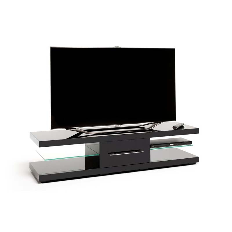 Wonderful Wellknown Techlink TV Stands Inside Techlink Echo Xl Series 75 In Tv Stand High Gloss Black Ec150b (Image 50 of 50)
