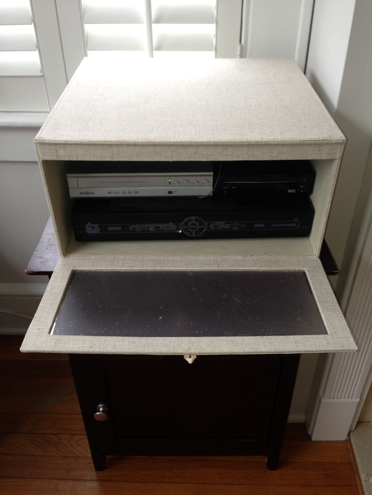 Wonderful Wellknown TV Stands Over Cable Box In Best 25 Hiding Cables Ideas On Pinterest Hide Cables Hiding (Image 49 of 50)