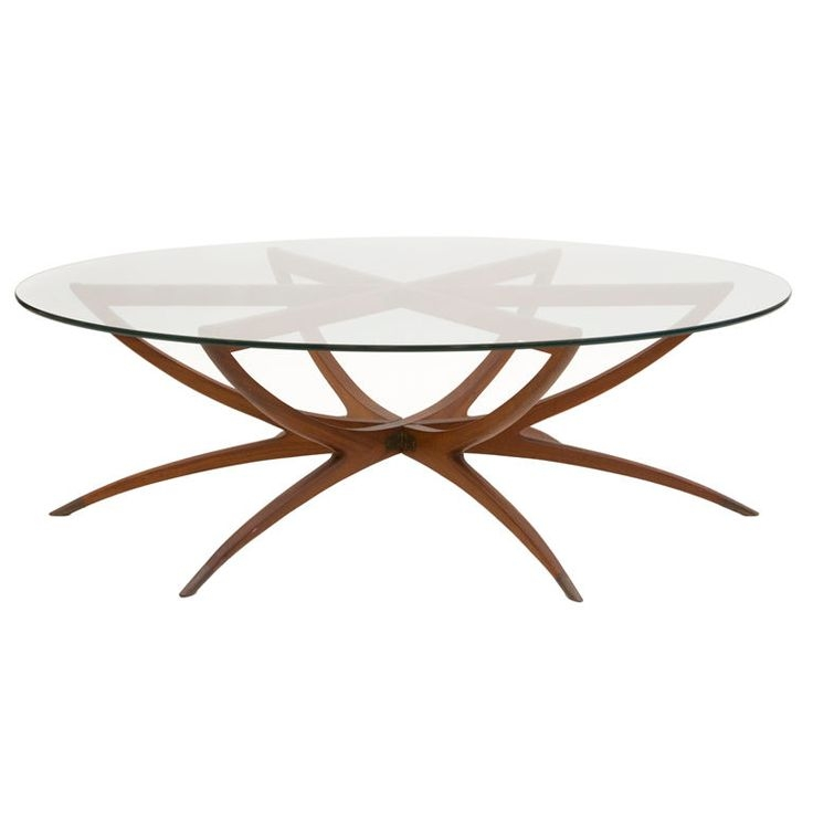 Wonderful Well Known Vintage Glass Top Coffee Tables Intended For 10 Best 1950s Glass Top Coffee Table Images On Pinterest (View 20 of 50)