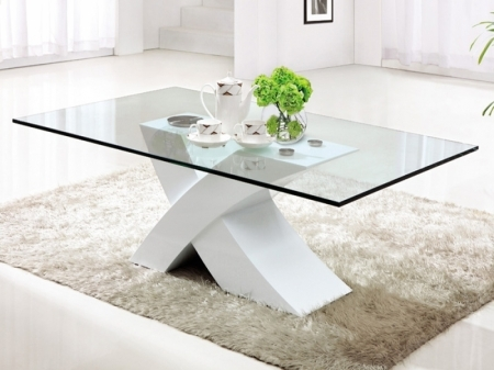Wonderful Well Known White And Glass Coffee Tables Intended For White Coffee Tables (View 2 of 40)