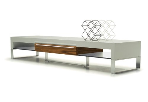 Wonderful Well Known White Modern TV Stands With Regard To Exclusive Modern Furniture Edition 33 Carlson Forster Pearl (Image 50 of 50)