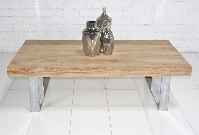 Wonderful Well Known Wood Chrome Coffee Tables Pertaining To Light Wood Coffee Table (Image 40 of 40)