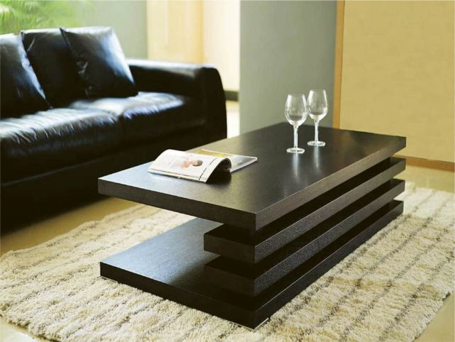Wonderful Well Known Wood Modern Coffee Tables Throughout Modern Coffee Table 12 Brilliant And Unusual Modern Coffee Tables (Image 49 of 50)