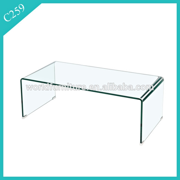 Wonderful Wellliked Curved Glass Coffee Tables Intended For Bent Glass Coffee Table Bent Glass Coffee Table Suppliers And (Image 49 of 50)